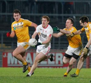 Antrim meet Tyrone in the Athletic Grounds