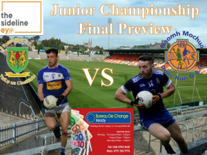 Junior Championship Final Preview