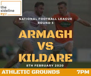 Armagh keen to bounce back against Kildare