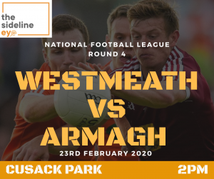 Armagh's winning record in Mullingar to continue this weekend