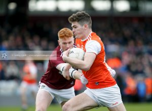 Clarke's goal claims share of the spoils for Armagh