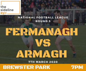 Armagh firm favourites to see off Fermanagh