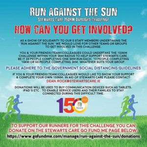 "Armagh Minors take part in ""Run against the Sun"" daylight challenge"