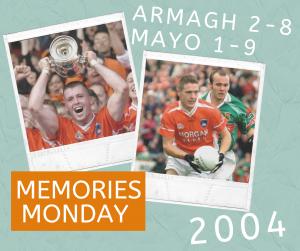 Memories Monday – Armagh under 21's vs Mayo 2004