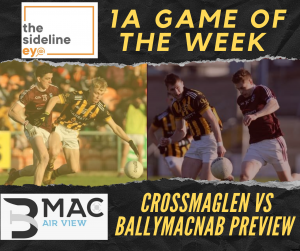 1A Game of the Week – Round 2