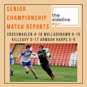 Senior Championship Quarter Final Match Reports