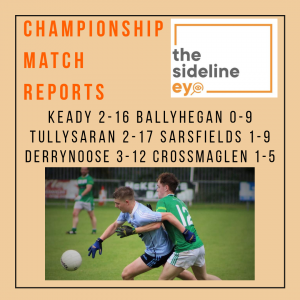 Intermediate and Junior Championship Match Reports