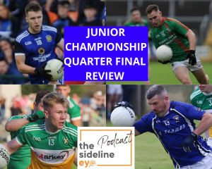 Junior Championship Quarter Final Review