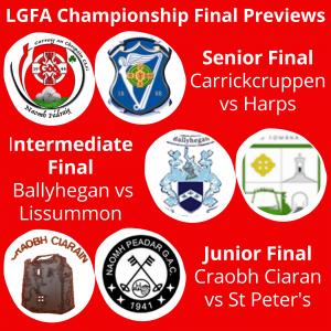 LGFA Championship Finals Preview