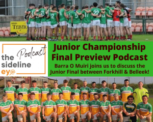 Junior Championship Final Preview Podcast