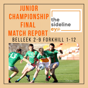 Junior Championship Final Match Report