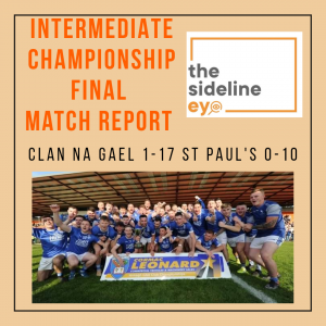 Intermediate Championship Final Match Report
