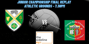 Junior Championship Final Replay Preview