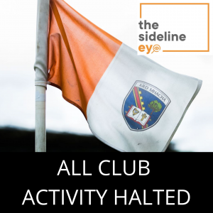 All club activity halted in Armagh