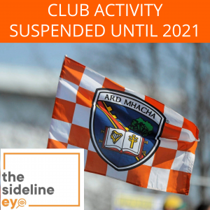 Club activity suspended until 2021