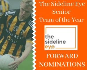 Senior Team of the Year – Forwards