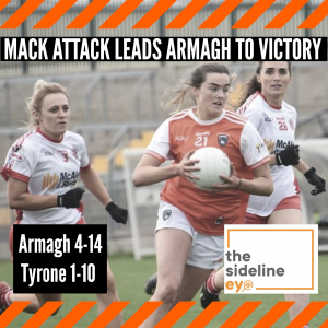 Mack attack leads Armagh to victory