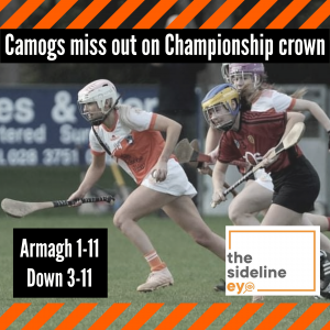 Camogs miss out on Championship crown
