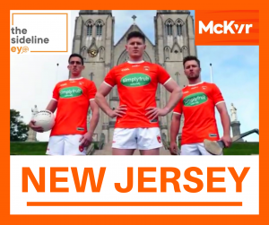 New Armagh jersey revealed