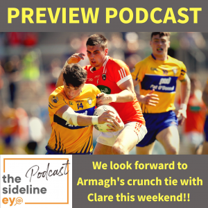 Armagh's new jersey, minor matters and promotion push
