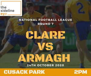 Clare contest key to Armagh's promotion push