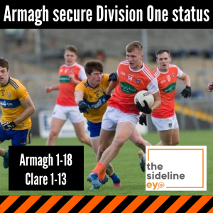 Armagh secure Division One status