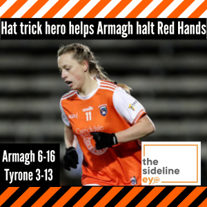 Hat trick hero helps Armagh halt Red Hands
