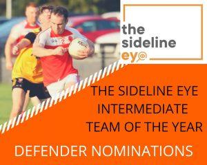 Intermediate Team of the Year – Defenders