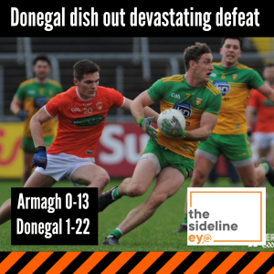Donegal dish out devastating defeat