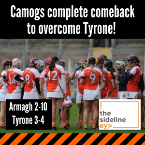 Camogs complete comeback to overcome Tyrone