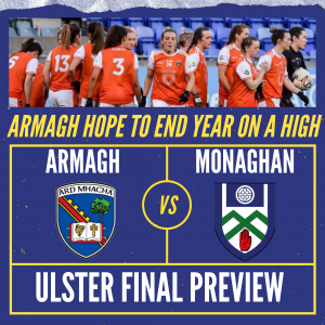Armagh hope to end year on a high
