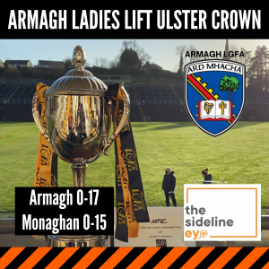 Armagh Ladies lift Ulster crown