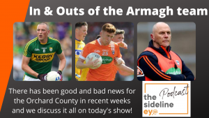 Ins and Outs of Armagh team