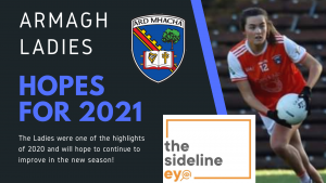 Hopes for 2021 – Armagh Ladies