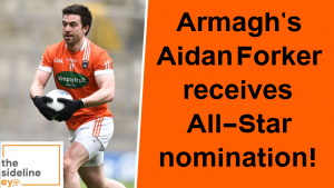 Armagh's Aidan Forker receives All-Star nomination