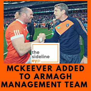 McKeever added to Armagh management team
