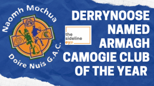 Derrynoose named Armagh Camogie Club of the Year