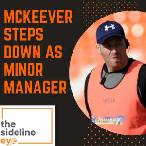 McKeever steps down as minor manager