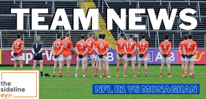 Armagh announce side to face Farney men