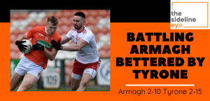 Battling Armagh bettered by Tyrone