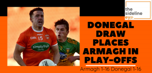 Donegal draw places Armagh in play-offs