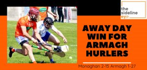 Away day win for Armagh hurlers