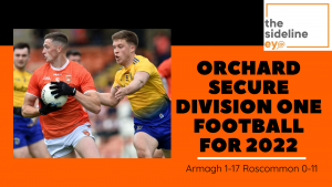Orchard secure Division One football for 2022