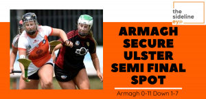 Armagh secure Ulster semi final spot