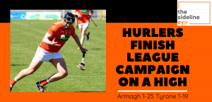 Hurlers finish league campaign on a high