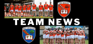 Camogs and Hurlers release starting line ups