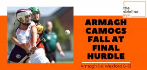 Armagh Camogs fall at final hurdle