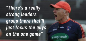 Complacency not a concern for McCorry