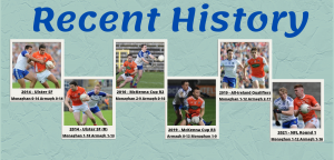 Recent History – Armagh vs Monaghan