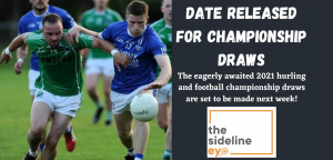 Date released for Championship draws